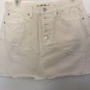 Free People  Denim Skirts  NWT